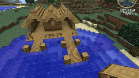 minecraft boat dock redstone minecraft tutorial medieval dockhouse youtube