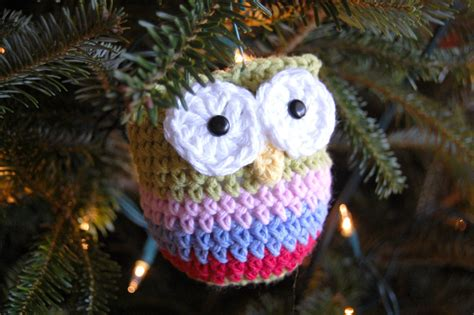 hopscotch lane crochet owl ornament pattern