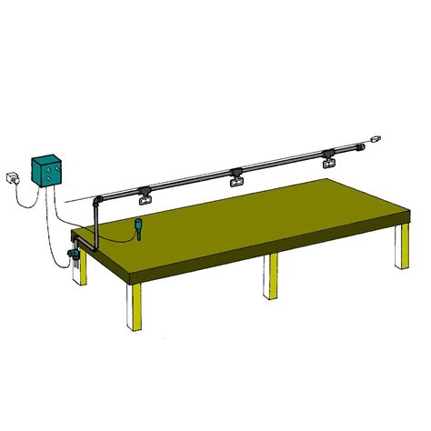 overhead bench overhead kit single bench 1 5m wide