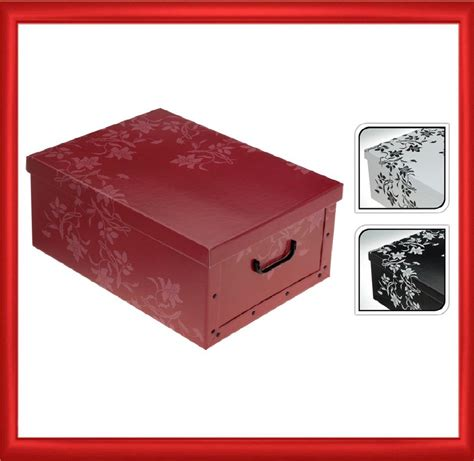 Cardboard Drawer Boxes by Italian Floral Cardboard Storage Box Drawers Cabinet Unit