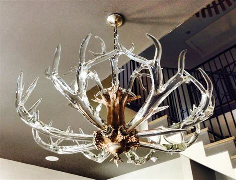 Glass Antler Chandelier 42 Antler Chandelier Contemporary Chandeliers By Lawson Glass