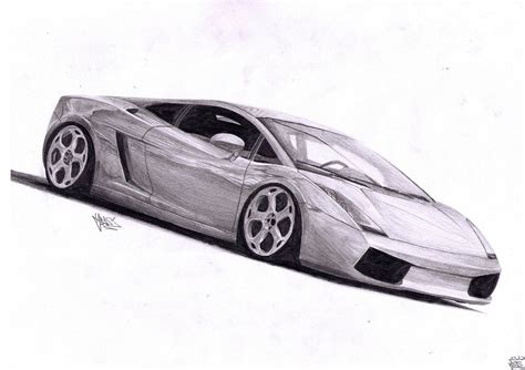 Drawings Of Lamborghinis Lamborghini Gallardo Pencil Drawing By Ajoslaf On Deviantart