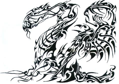 tribal dragon by phantomxxx on deviantart