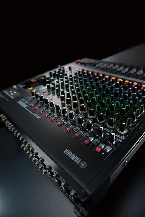 Mixer Yamaha Mgp Series yamaha mgp16x image 527645 audiofanzine
