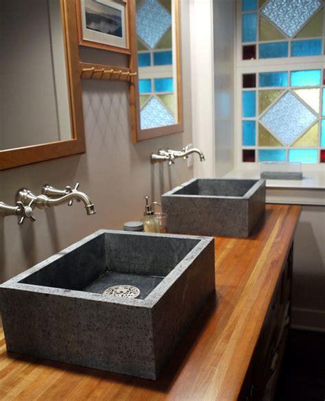 Soapstone Bathroom Sink - 20 sles of classic bathroom sinks home design lover