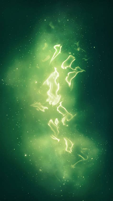wallpaper galaxy green abstract green galaxy android wallpaper free download