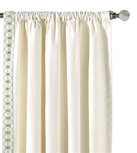 White Drapery Panels luxury bedding by eastern accents filly white curtain