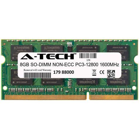 Memory Ram Ddr3 Laptop Toshiba atech 8gb sodimm ddr3 laptop pc3 12800 12800 1600mhz 1600 204 pin ram memory ebay