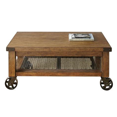 Steve Silver Coffee Tables Steve Silver Hailee Coffee Table In Distressed Oak Ha150c