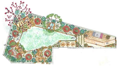 backyard landscape design plans unique backyard landscape design