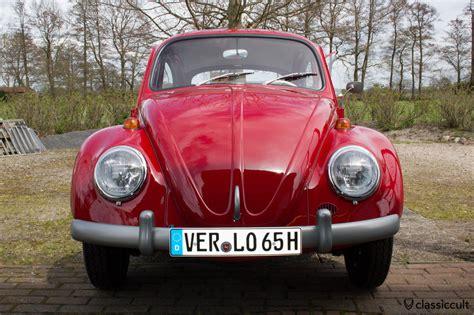 volkswagen beetle front view vw 1200 a standard beetle 1965 1966 details