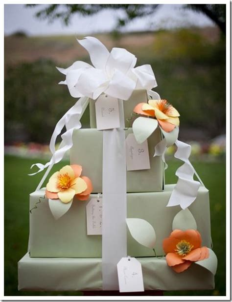 gift wrapping ideas for bridal shower bridal shower gift wrap heavenly dessert
