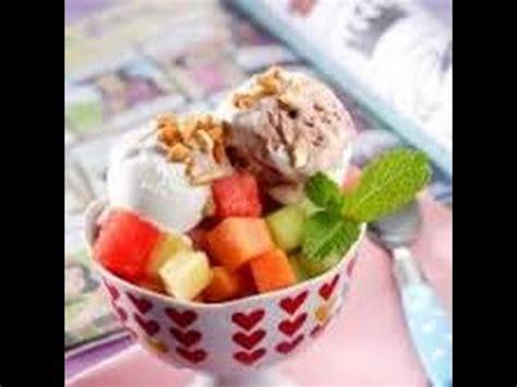 cara membuat es buah rumahan cara membuat es krim buah youtube