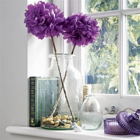 Paper Flower At Home - create pretty paper flowers in 3 easy steps