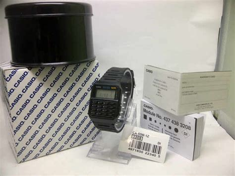 Jam Tangan Casio Ca 53w Original jam tangan casio ca 53w databank calculator
