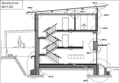 Pultdach Aufbau Detail by Neugestaltung Und Energetische Sanierung Eines Ehemaligen