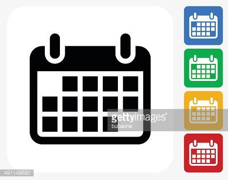Calendar Graphic Calendar Icon Flat Graphic Design Vector Getty Images