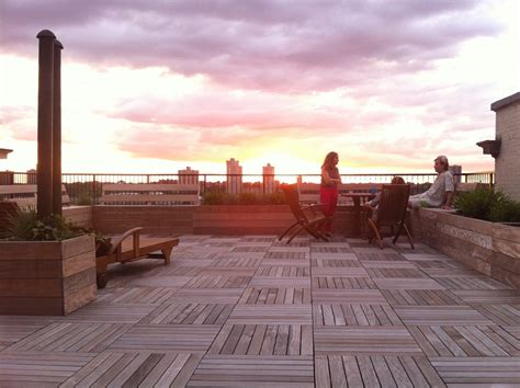 nyc rooftop decks gardens roof decks  york roofscapes