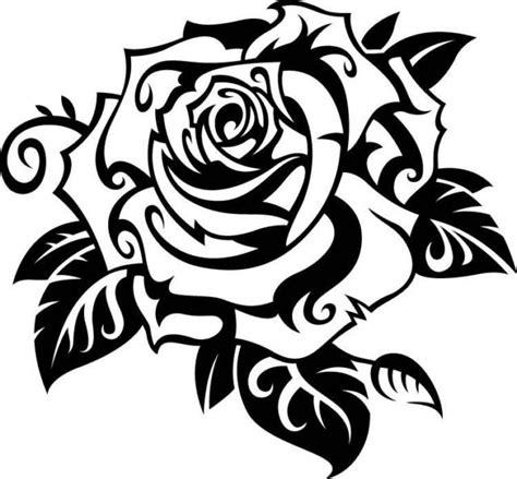 Textured Wall by Rose Flower Vinyl Decal Sticker