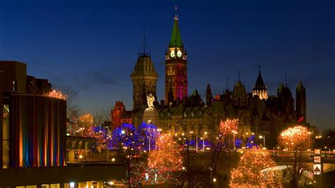 christmas lights across canada ottawa tourism