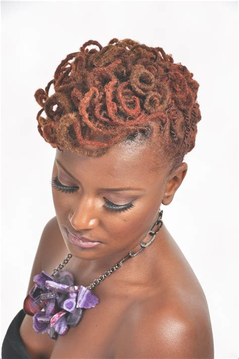 medium length dreads hairstyle for women man