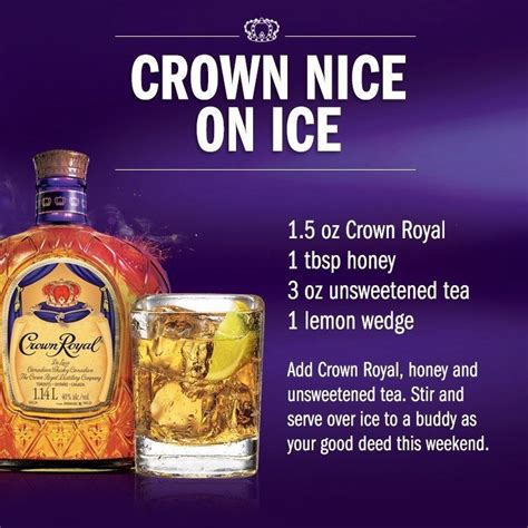 royal teas seasonal recipes 1909741337 crown royal lemon drink crown royal crown lemon and royals