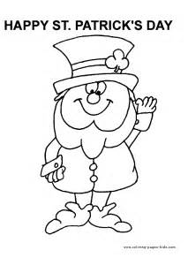 st s day coloring sheet st s day color page coloring pages for