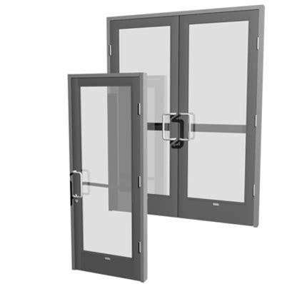 standard medium stile swing entrances hardware
