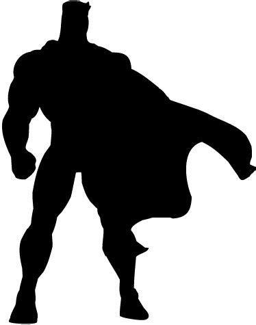 Superman Siluet silhouette clipart pencil and in color