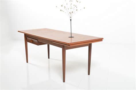 teak sofa table mid century dansih sofa table in teak room of