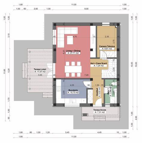Proiecte De Case Mici Cu Un Etaj Spatiu Suplimentar Small Area House Plan Design