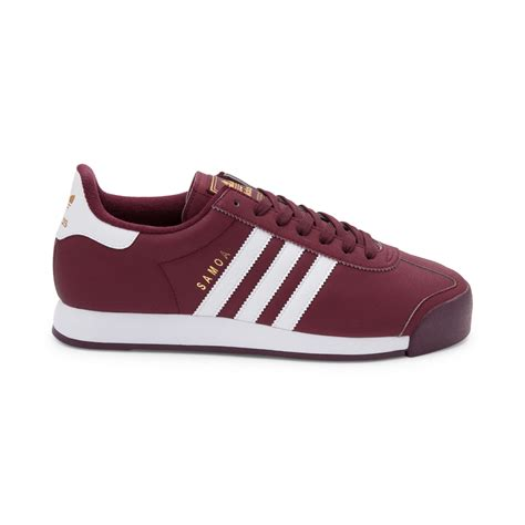 adidas men mens adidas samoa athletic shoe red 436287