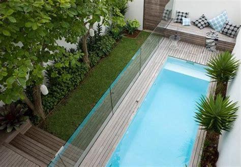 desain kolam renang minimalis mungil rumah dan desain