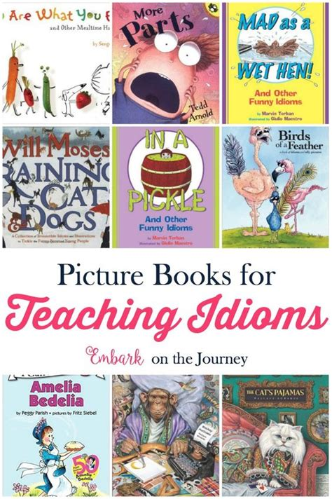 Teaching Idioms With Picture Books Free Printables