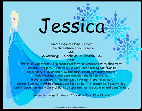 Meaning Of Jessica Picture And Images