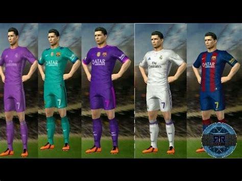 dream league soccer real madrid kits kits do barcelona e real madrid atualizados 2016 e 2017
