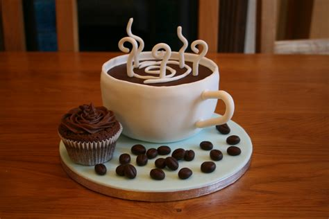 creative coffee cake  cupcake designs