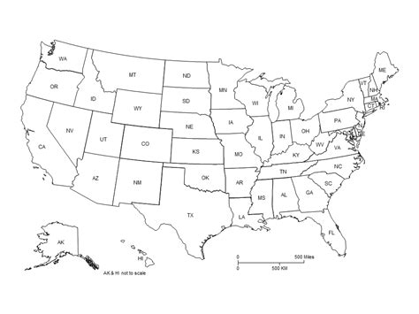 powerpoint map of usa usa powerpoint map clipped with two letter labels maps
