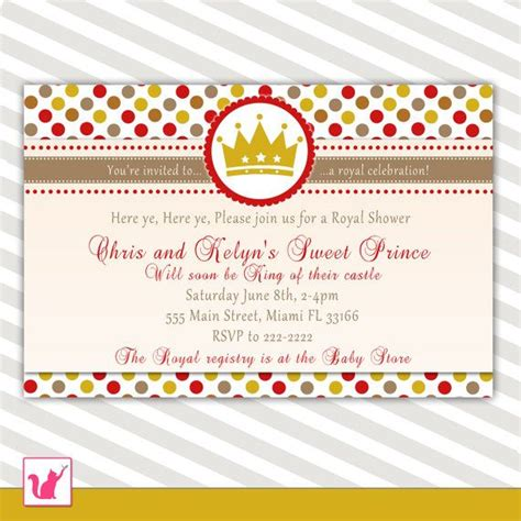 Sweet Prince Baby Shower Invitations by 112 Best Baby Shower Invitations Images On