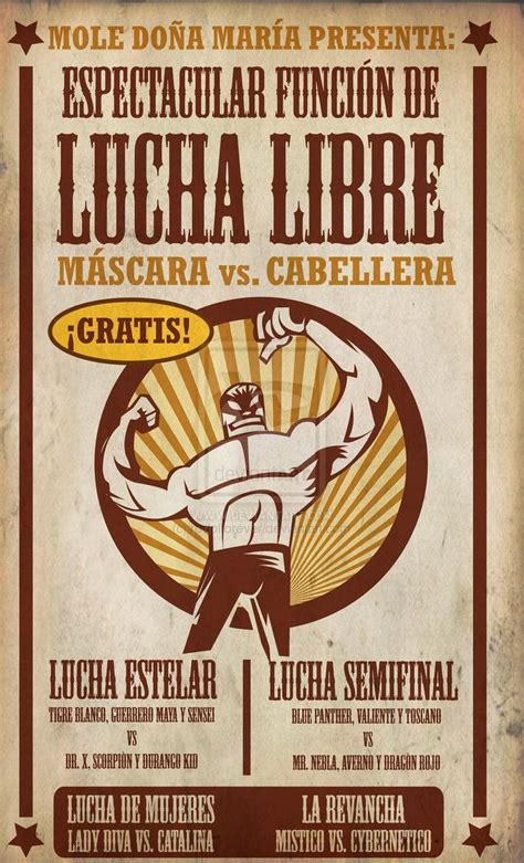 25 Best Ideas About Lucha Libre On Pinterest Wrestling Tumblr Mexican Art And Viva Mexico Lucha Libre Poster Template