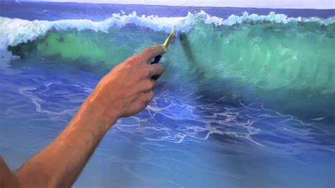 how to paint a learn how to paint water on a beach canvas art creations