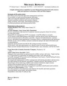 Resume Sample Account Manager by Job Resume Free Resumes