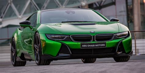 bmw i8 colors abu dhabi motors offers limited collection of colors for