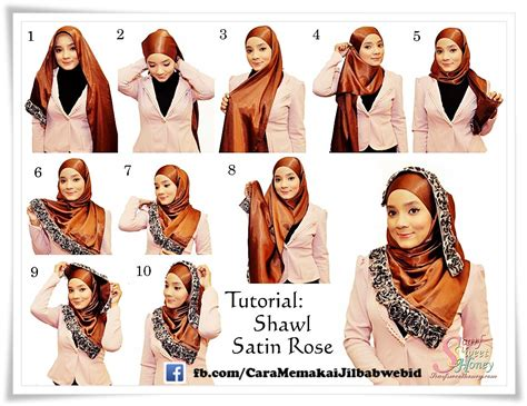 tutorial kerudung pashmina bahan licin the universal turkish hijab style with tutorial hijabiworld