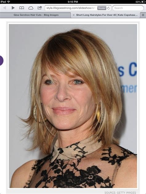 kate capshaw looks awesome hair pinterest awesome growing pains medium hair styles
