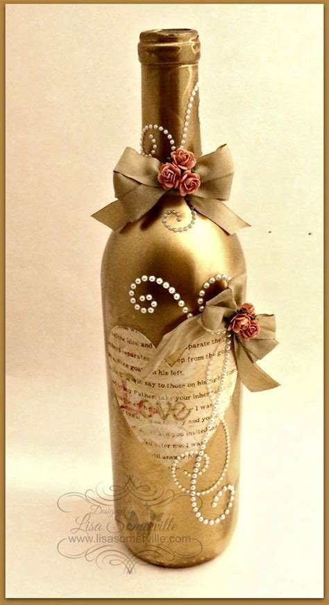 25 best ideas about wine bottle decorations on