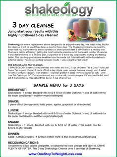 Shakeology Detox Side Effects by 25 Best Ideas About Shakeology 3 Day Cleanse On