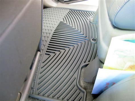 2011 Honda Odyssey Floor Mats by Weathertech All Weather Front Floor Mats Black