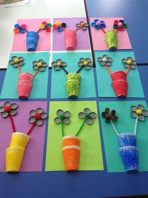 and crafts for kindergarten flower craft crafts and worksheets for preschool toddler