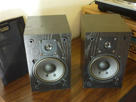 altec lansing model 75 hi fidelity mini bookshelf